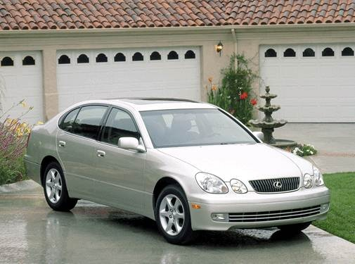 Top Consumer Rated Sedans of 2001 - 2001 Lexus GS