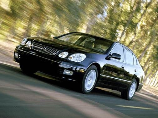 Highest Horsepower Sedans of 2001 - 2001 Lexus GS