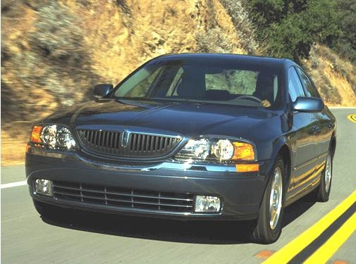 Most Popular Luxury Vehicles of 2001 - 2001 Lincoln LS