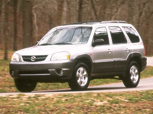 Most Popular Crossovers of 2001 - 2001 Mazda Tribute