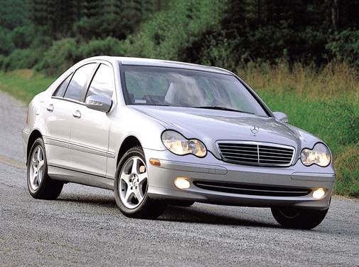Most Popular Luxury Vehicles of 2001 - 2001 Mercedes-Benz C-Class