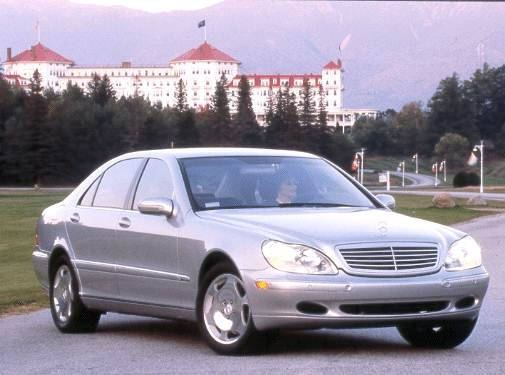 Highest Horsepower Sedans of 2001 - 2001 Mercedes-Benz S-Class
