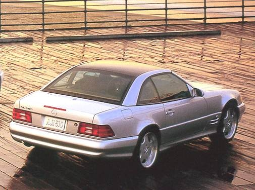 Highest Horsepower Convertibles of 2001 - 2001 Mercedes-Benz SL-Class