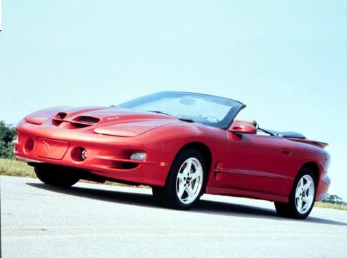 Highest Horsepower Convertibles of 2001 - 2001 Pontiac Firebird