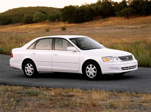 Top Consumer Rated Sedans of 2001 - 2001 Toyota Avalon