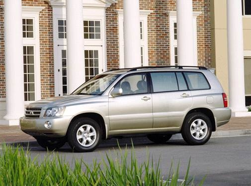 Top Consumer Rated Crossovers of 2001 - 2001 Toyota Highlander