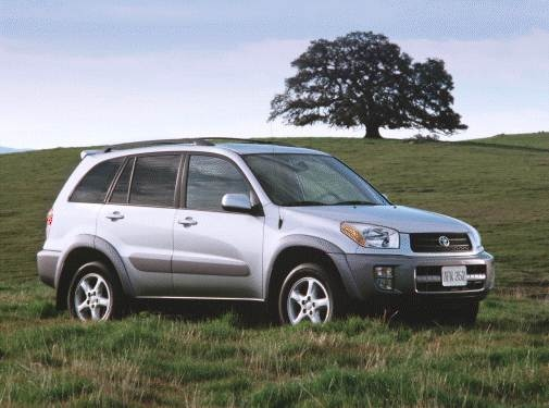 Top Consumer Rated Crossovers of 2001 - 2001 Toyota RAV4