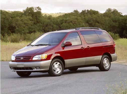 Most Popular Van/Minivans of 2001 - 2001 Toyota Sienna