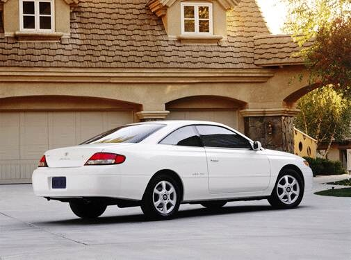 Top Consumer Rated Coupes of 2001 - 2001 Toyota Solara