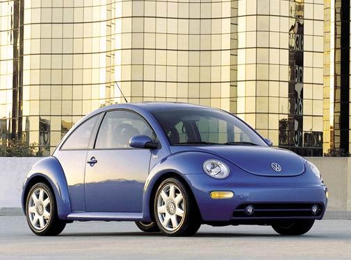 Most Fuel Efficient Hatchbacks of 2001 - 2001 Volkswagen New Beetle