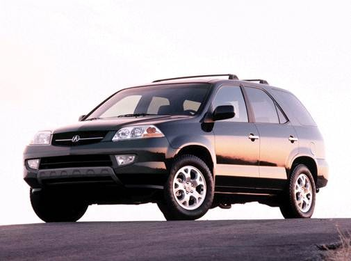 Most Popular Crossovers of 2002 - 2002 Acura MDX
