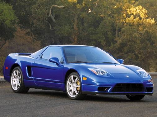 Top Consumer Rated Coupes of 2002 - 2002 Acura NSX