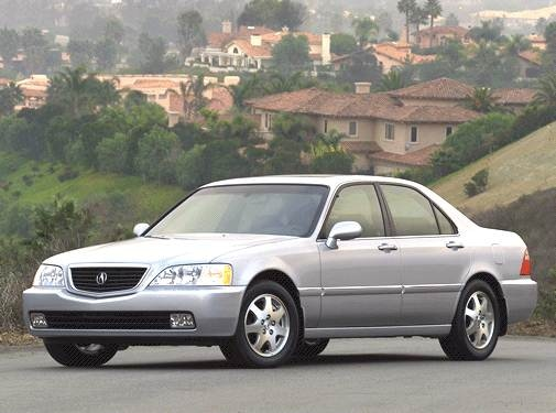 Top Consumer Rated Sedans of 2002 - 2002 Acura RL