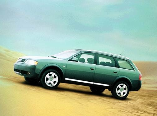 Highest Horsepower Wagons of 2002 - 2002 Audi allroad