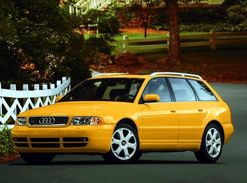 Highest Horsepower Wagons of 2002 - 2002 Audi S4