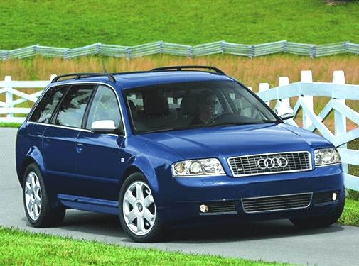 Top Consumer Rated Wagons of 2002 - 2002 Audi S6