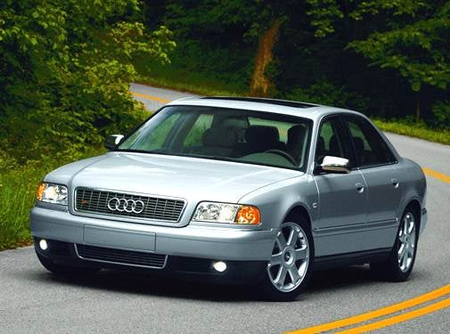 Top Consumer Rated Sedans of 2002 - 2002 Audi S8