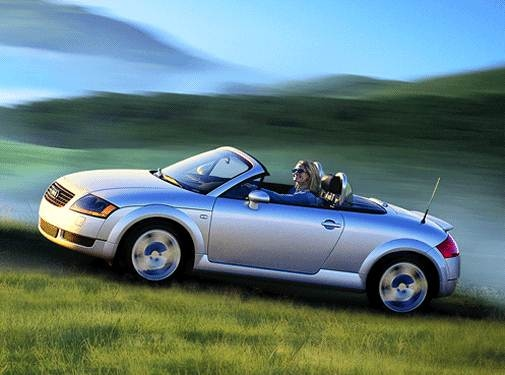Most Fuel Efficient Convertibles of 2002 - 2002 Audi TT