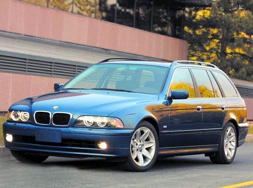 Top Consumer Rated Wagons of 2002 - 2002 BMW 5 Series