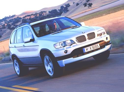 Highest Horsepower Crossovers of 2002 - 2002 BMW X5