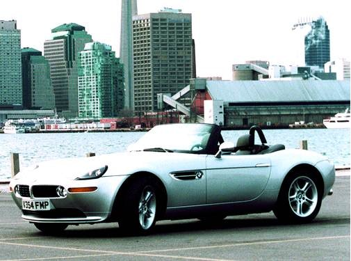 Top Consumer Rated Convertibles of 2002 - 2002 BMW Z8