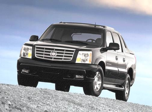 Top Consumer Rated Trucks of 2002 - 2002 Cadillac Escalade EXT