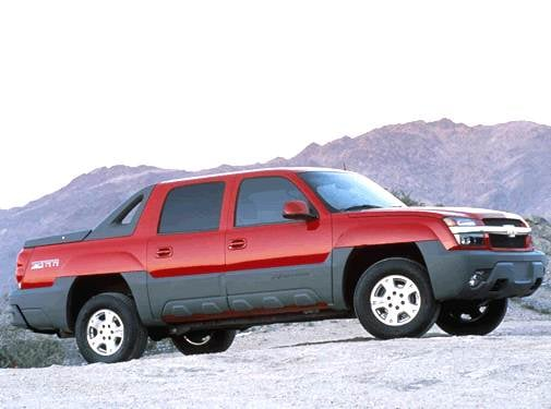 Top Consumer Rated Trucks of 2002 - 2002 Chevrolet Avalanche 1500