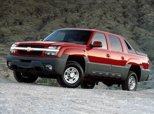 Top Consumer Rated Trucks of 2002 - 2002 Chevrolet Avalanche 2500