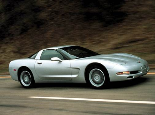Highest Horsepower Hatchbacks of 2002 - 2002 Chevrolet Corvette