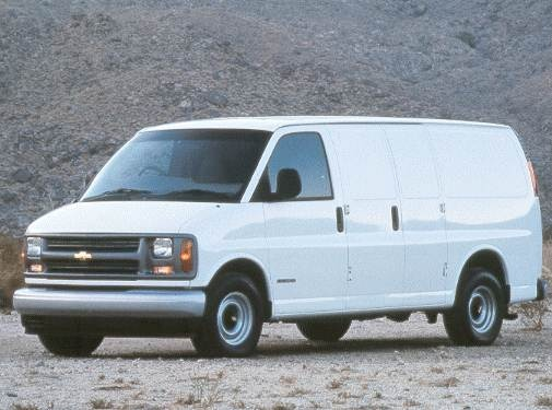 Highest Horsepower Van/Minivans of 2002 - 2002 Chevrolet Express 2500 Cargo