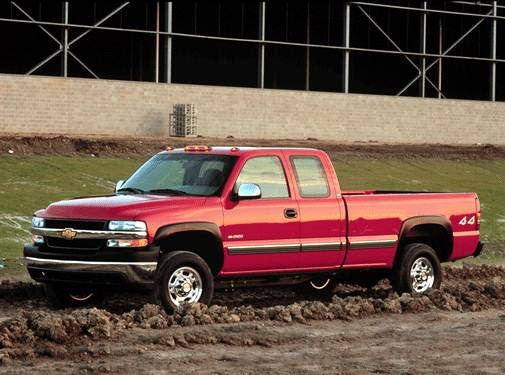 Top Consumer Rated Trucks of 2002 - 2002 Chevrolet Silverado 2500 HD Extended Cab