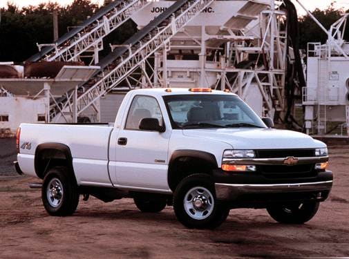Top Consumer Rated Trucks of 2002 - 2002 Chevrolet Silverado 2500 HD Regular Cab