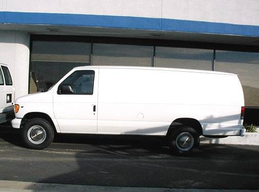 Top Consumer Rated Van/Minivans of 2002 - 2002 Ford Econoline E350 Super Duty Cargo
