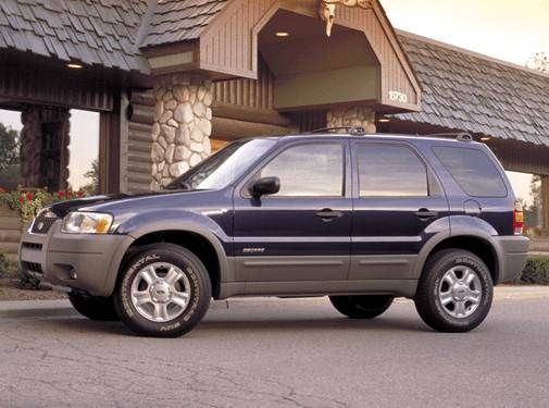 Most Fuel Efficient SUVS of 2002 - 2002 Ford Escape