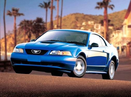 Most Popular Coupes of 2002 - 2002 Ford Mustang