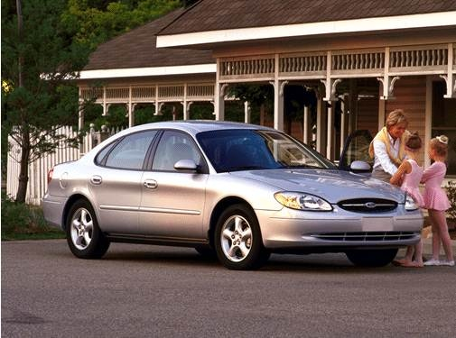 Most Popular Sedans of 2002 - 2002 Ford Taurus