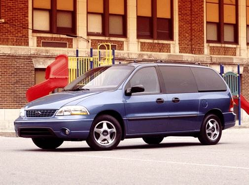 Most Popular Van/Minivans of 2002 - 2002 Ford Windstar Passenger