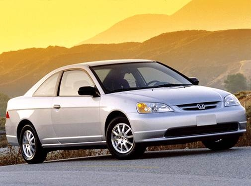 Most Fuel Efficient Coupes of 2002 - 2002 Honda Civic