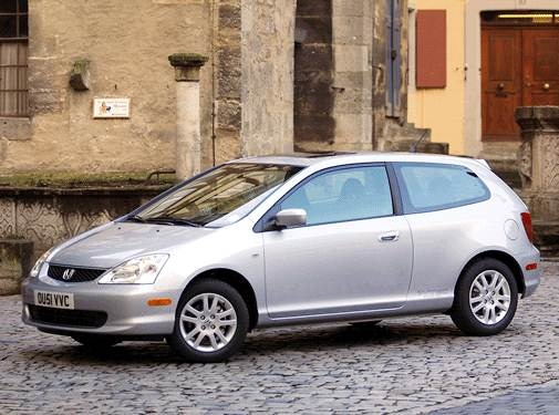 Top Consumer Rated Hatchbacks of 2002 - 2002 Honda Civic