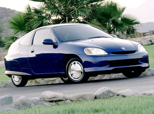 Most Fuel Efficient Coupes of 2002 - 2002 Honda Insight