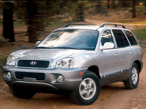 Most Fuel Efficient SUVS of 2002 - 2002 Hyundai Santa Fe