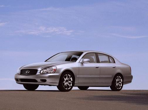 Top Consumer Rated Sedans of 2002 - 2002 INFINITI Q