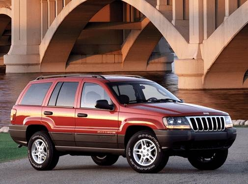 Most Popular SUVS of 2002 - 2002 Jeep Grand Cherokee