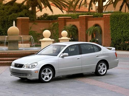 Top Consumer Rated Sedans of 2002 - 2002 Lexus GS