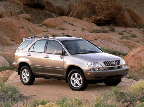 Highest Horsepower Crossovers of 2002 - 2002 Lexus RX