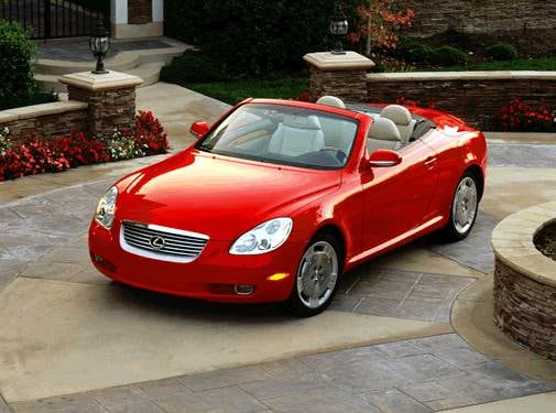 Top Consumer Rated Convertibles of 2002 - 2002 Lexus SC