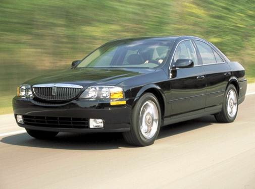 Most Popular Luxury Vehicles of 2002 - 2002 Lincoln LS