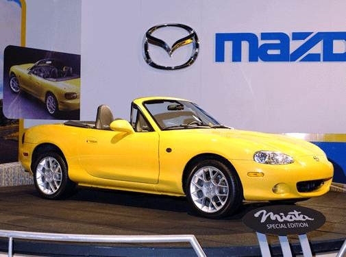 Most Fuel Efficient Convertibles of 2002 - 2002 Mazda MX-5 Miata