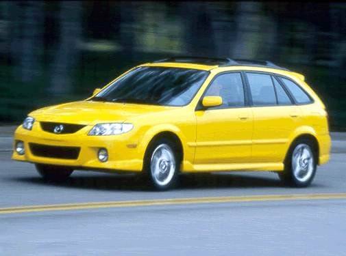 Top Consumer Rated Hatchbacks of 2002 - 2002 MAZDA Protege5
