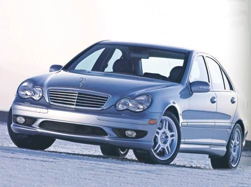 Highest Horsepower Sedans of 2002 - 2002 Mercedes-Benz C-Class